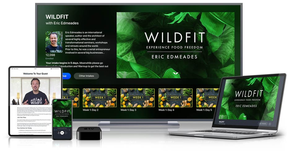 WILDFIT on various devices