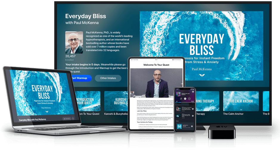 Everyday Bliss on multiple devices