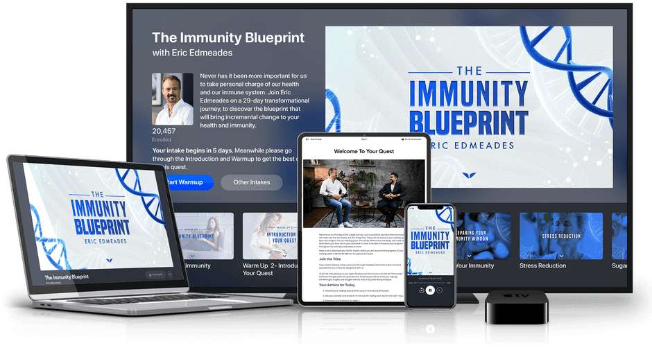 The Immunity Blueprint on multiple devices