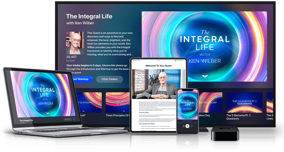 The Integral Life on multiple devices