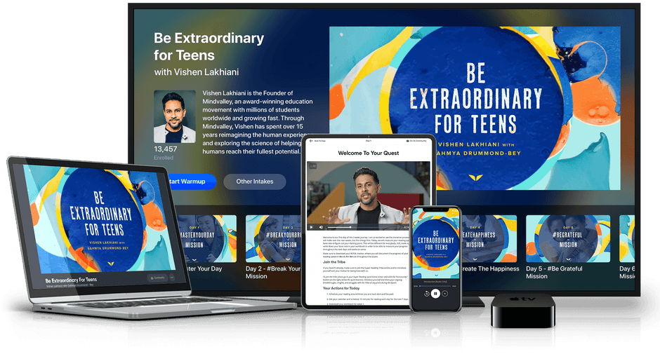 Be Extraordinary For Teens in various devices